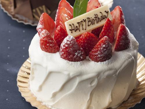 【Happy Anniversary】2人で過ごす大切な記念日に ~ホテルオリジナルケーキ&シャンパン付~