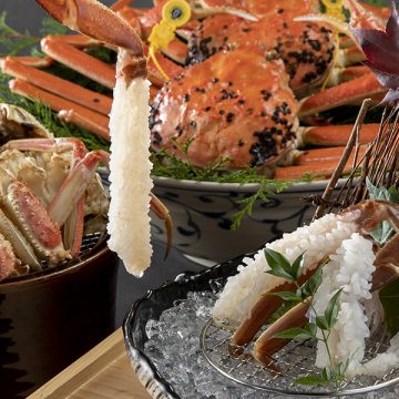 日本料理 呉竹<br>北陸の美食「越前がに」フェア