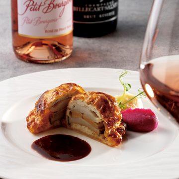 """Wine Ensemble Dinner""""至福""""<br>~鮑 磯からの贈り物とロゼワインのアンサンブル~"""