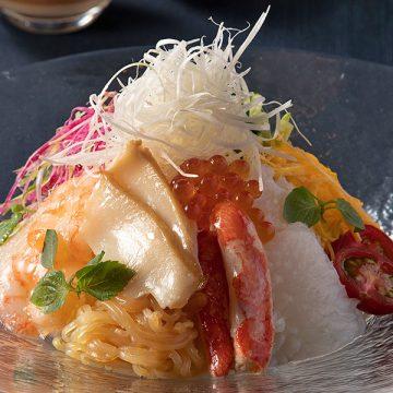 中国料理「柳城」特製冷麺