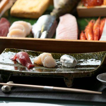寿司職人が目の前で握るお寿司がご堪能いただけます