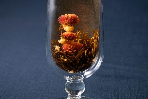 秋を彩る、幸せを招く中国茶会