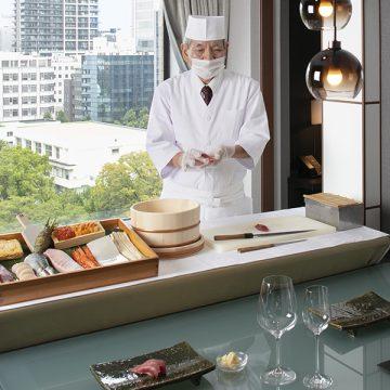【1日1組限定】<br>プライベート空間でお寿司を愉しむ