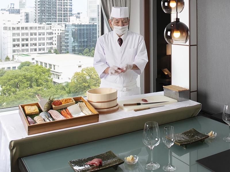【1日1組限定】プライベート空間でお寿司を愉しむ