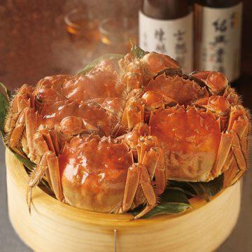 至福の上海蟹コース