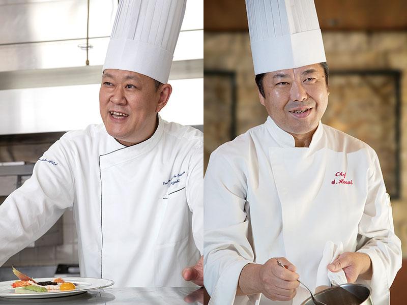 レストラン料理長 鈴木&シェフ 細井 賞味会